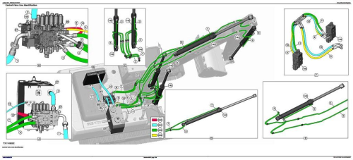 Second Additional product image for - John Deere E360 and E360LC Excavator Diagnostic, Operation and Test Service Manual (TM13104X19)