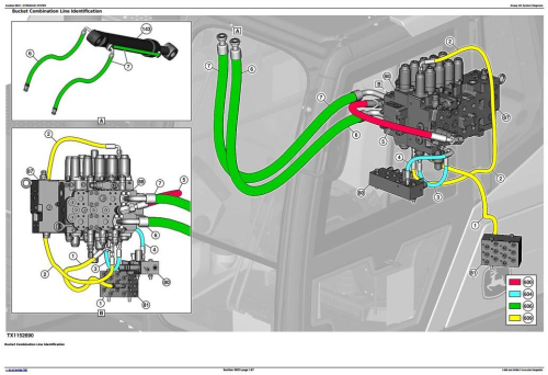 Third Additional product image for - John Deere E360 and E360LC Excavator Diagnostic, Operation and Test Service Manual (TM13104X19)