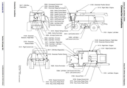 Fourth Additional product image for - John Deere 9540, 9560, 9580, 9640, 9660, 9680 CWS & WTS Combines Diagnostic Service Manual (tm4698)