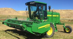 john deere 4895 self-propelled hay and forage windrower (sn.-180000) service repair manual (tm2033)
