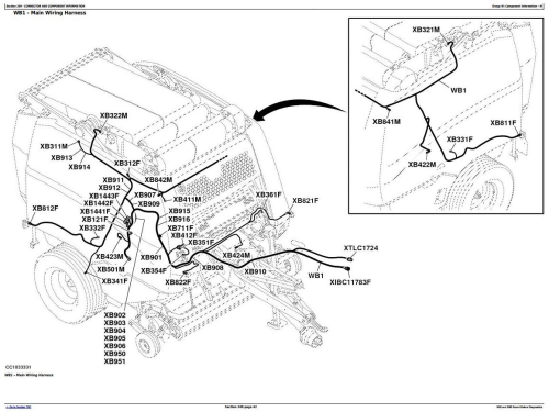 John Deere 960, 990 Hay and Forage Round Balers