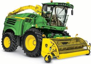 john deere 8100, 8200, 8300, 8400, 8500, 8600, 8700, 8800 forage harvester service repair manual (tm407119)