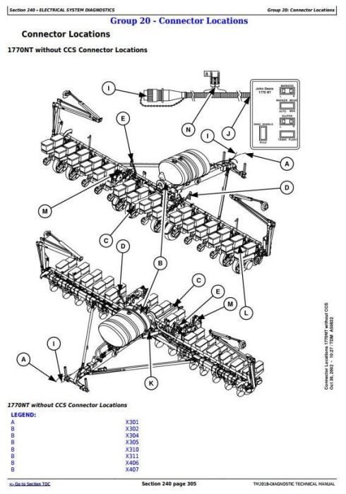 John Deere 1770NT, 1770NT CCS 16-Row Planter (SN.– 740100