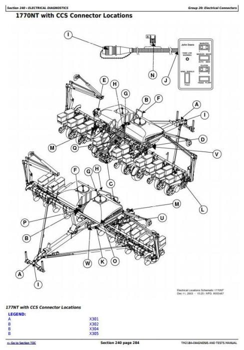 John Deere 1770NT, 1770NT CCS 12-Row Planter (SN.–740100