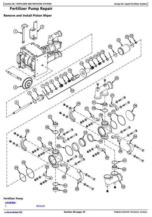 John Deere / Bauer DB50, DB74, DB90 (SN.750101-) Planters