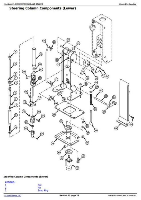Fourth Additional product image for - John Deere 9660, 9540i, 9560i, 9580i, 9640i, 9660i, 9680i WTS, 9780i CTS Combines Repair Manual (tm8090)