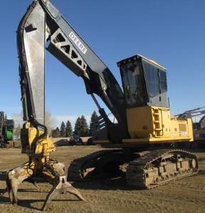 john deere 2054 delimber and 2554 harvester logger technical service manual (tm2016)