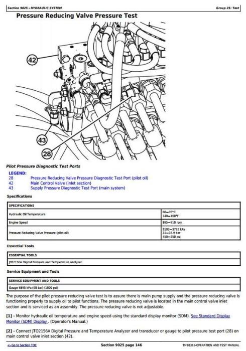 Third Additional product image for - John Deere 640H, 648H Skidder (SN. -630435) Skidder Diagnostic and Test Service Manual (TM10312)