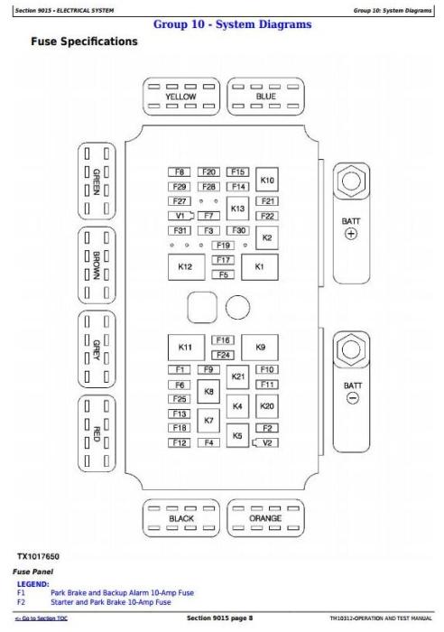 Fourth Additional product image for - John Deere 640H, 648H Skidder (SN. -630435) Skidder Diagnostic and Test Service Manual (TM10312)