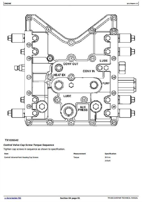 Second Additional product image for - John Deere 640H and 648H (SN. before 630435) Skidders Service Repair Technical Manual (TM10313)