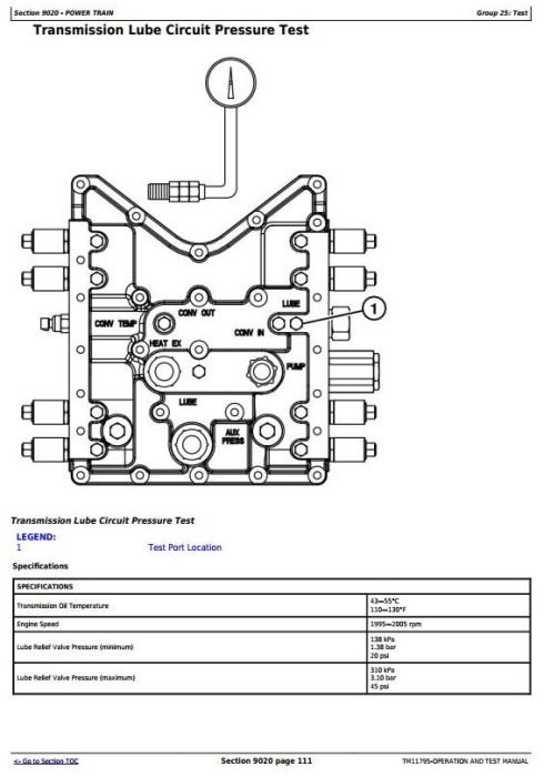 Second Additional product image for - John Deere 640H and 648H (SN. from 630436) Skidder Diagnostic and Test Service Manual (TM11795)