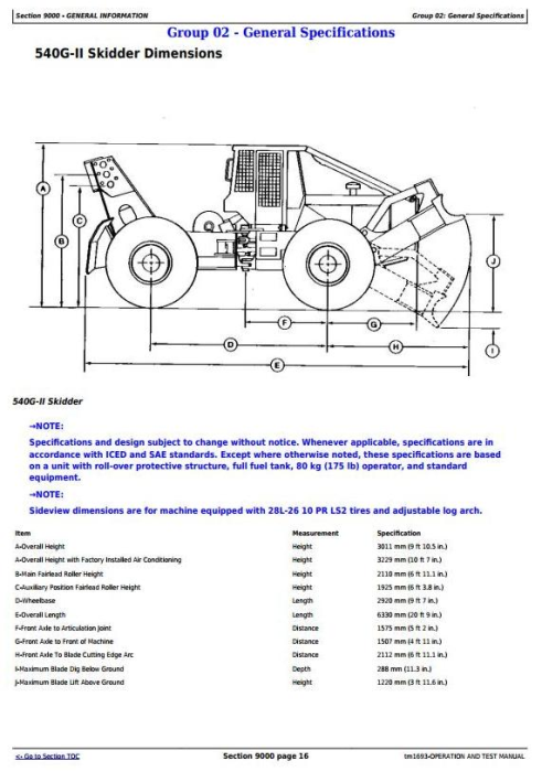 Fourth Additional product image for - John Deere 540G-2 640G-2 548G-2 648G-2 748G-2 (SN.565685-576252) Skidder Diagnostic Manual (TM1693)