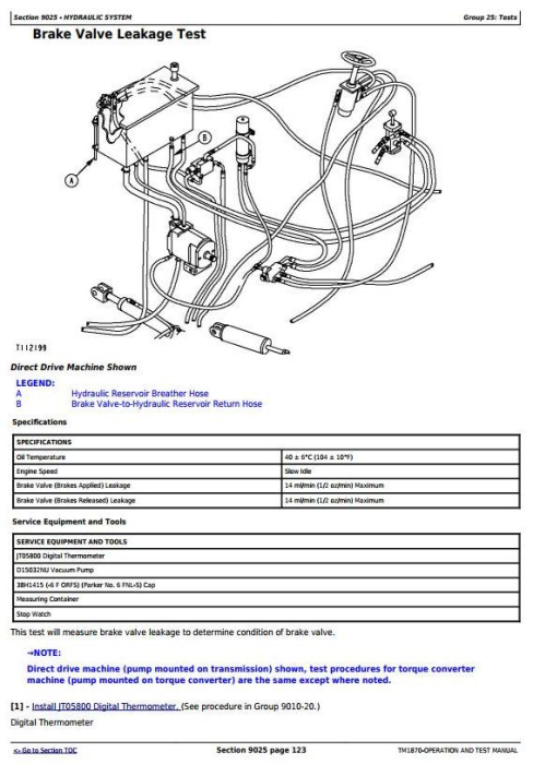 Third Additional product image for - John Deere 540G-3, 548G-3, 640G-3, 648G-3, 748G-3 (SN.–586336) Diagnostic Service Manual (TM1870)