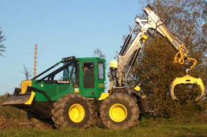 timberjack 360d, 460d, 560d (sn.-586336) single arch grapple skidder diagnostic and test (tm1879)