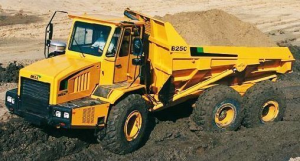 john deere bell b25c articulated dump truck service repair technical manual (tm1812)