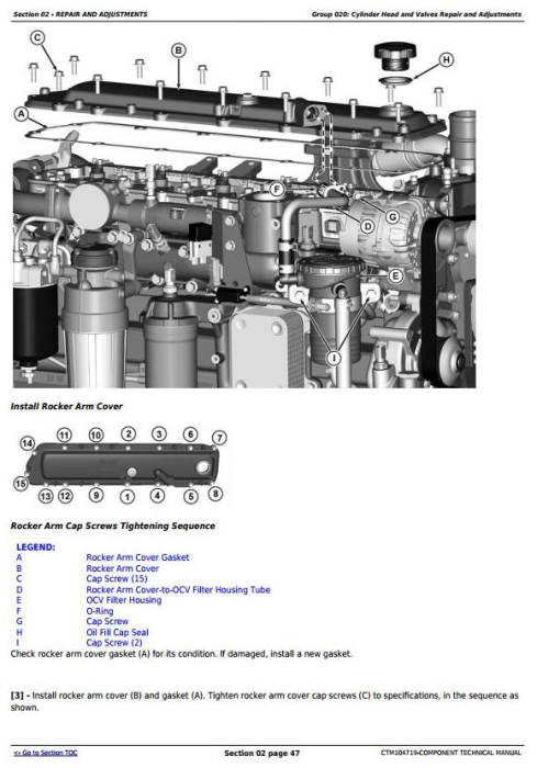 Second Additional product image for - PowerTech 6068 Diesel Engine 130kW (174 hp) (Interim Tier 4/Stage III B)Technical Manual (CTM104719)