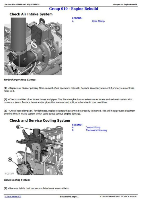 Second Additional product image for - PowerTech 4045 Diesel Engine (Interim Tier 4/Stage IIIB) Level 23 ECU Technical Manual (CTM114619)