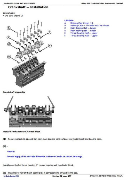 Second Additional product image for - PowerTech 6068 Diesel Engine (Stage II platform) Level 24 ECU Technical Service Manual (CTM114719)