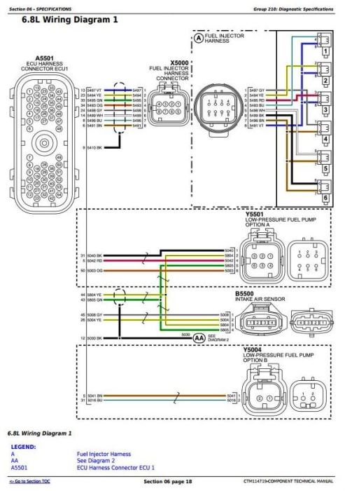 Fourth Additional product image for - PowerTech 6068 Diesel Engine (Stage II platform) Level 24 ECU Technical Service Manual (CTM114719)