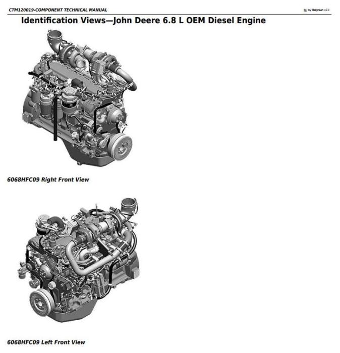 First Additional product image for - PowerTech 6068 Diesel Engines (Final Tier 4/Stage IV platform) Lev.33 ECU Servicel Manual(CTM120019)