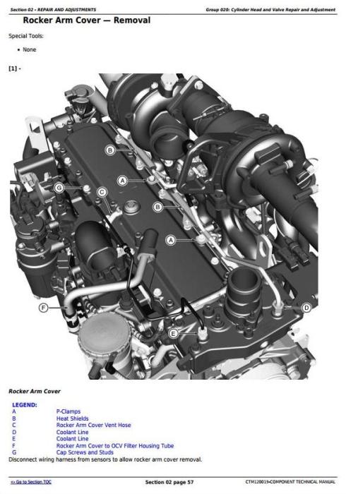 Second Additional product image for - PowerTech 6068 Diesel Engines (Final Tier 4/Stage IV platform) Lev.33 ECU Servicel Manual(CTM120019)