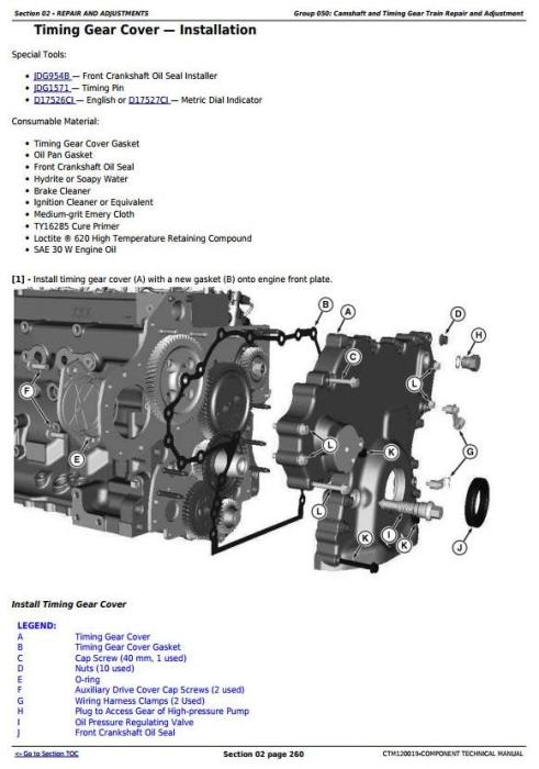 Third Additional product image for - PowerTech 6068 Diesel Engines (Final Tier 4/Stage IV platform) Lev.33 ECU Servicel Manual(CTM120019)