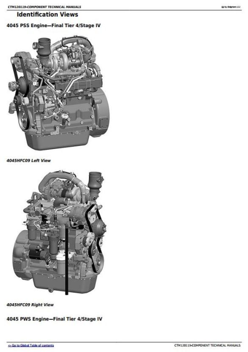 First Additional product image for - PowerTech 4045 Diesel Engine (Final Tier 4/Stage IV) with Level 34 ECU Technical Manual (CTM120119)