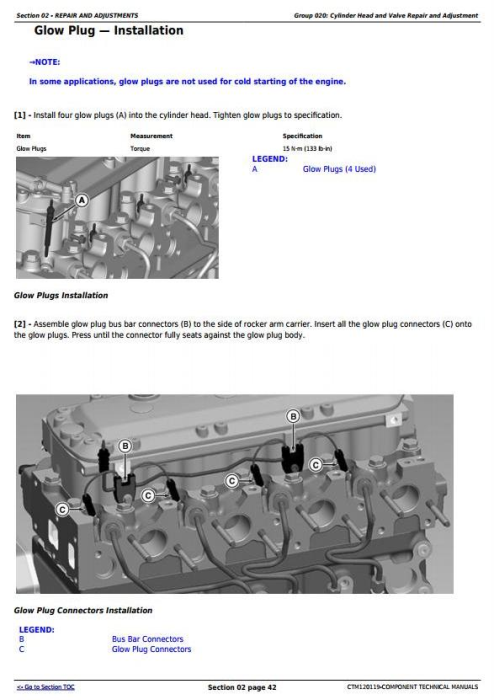 Second Additional product image for - PowerTech 4045 Diesel Engine (Final Tier 4/Stage IV) with Level 34 ECU Technical Manual (CTM120119)