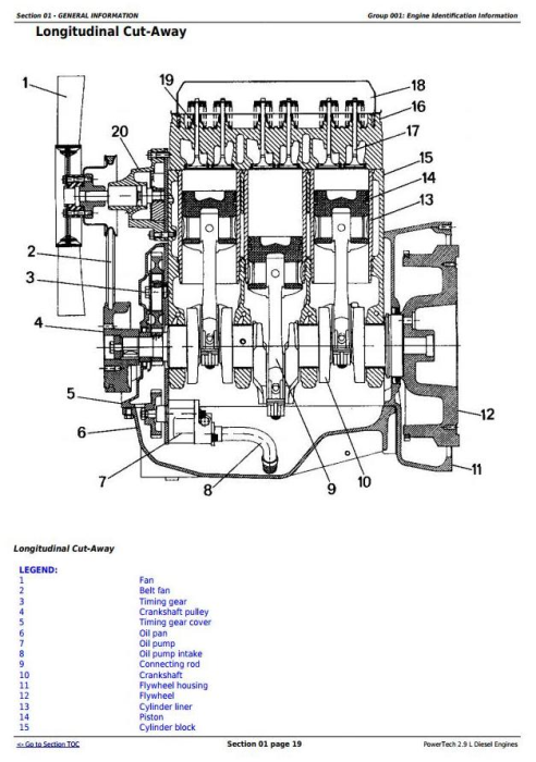 Second Additional product image for - PowerTech 3029 2.9L Diesel Engines Diagnostic and Repair Technical Service Manual (CTM125)