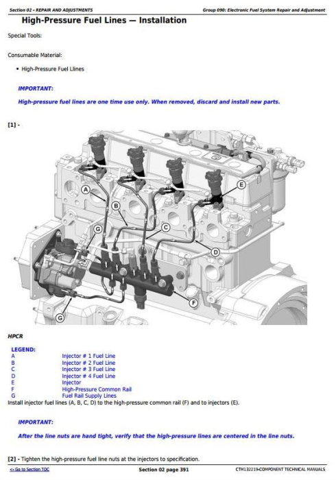 Third Additional product image for - PowerTech 4045 EWX Diesel Engine (Final Tier 4/Stage IV) w.Level 23 ECU Technical Manual (CTM132219)