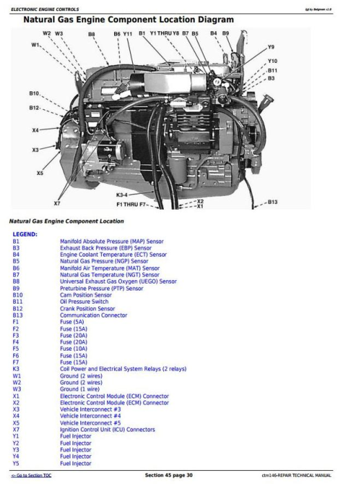 Fourth Additional product image for - PowerTech 6.8L, 6068 Compressed Natural Gas Engine Repair Technical Manual (ctm146)