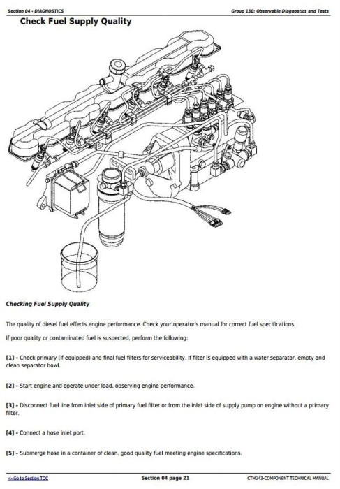 Third Additional product image for - PowerTech 6081 Diesel Engines Mechanical Fuel Systems Diagnostic and Repair Service Manual (CTM243)