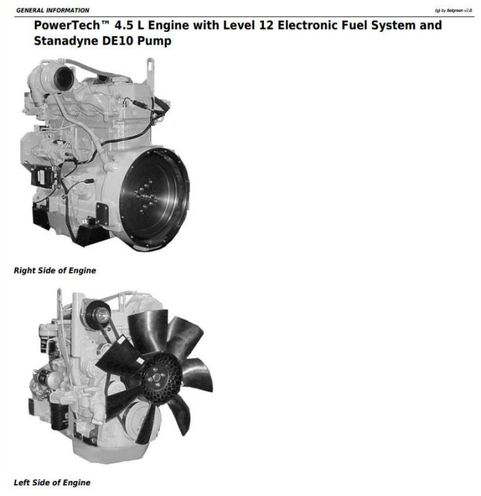 First Additional product image for - PowerTech 4.5L& 6.8L Diesel Engine Lev.12 Electronic Fuel System w.DE10 Pump Service Manual (CTM331)