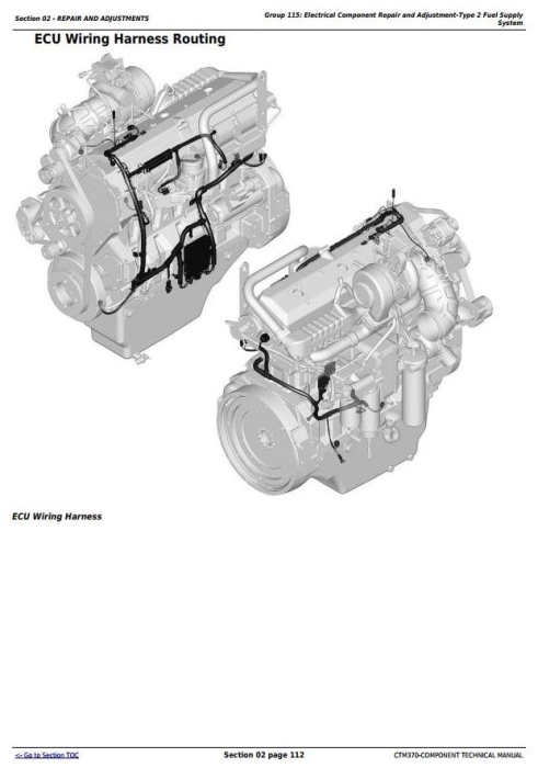 First Additional product image for - PowerTech 6135 Diesel Engine Level 15 Electronic Fuel Systems w.Delphi EUIs Technical Manual(CTM370)