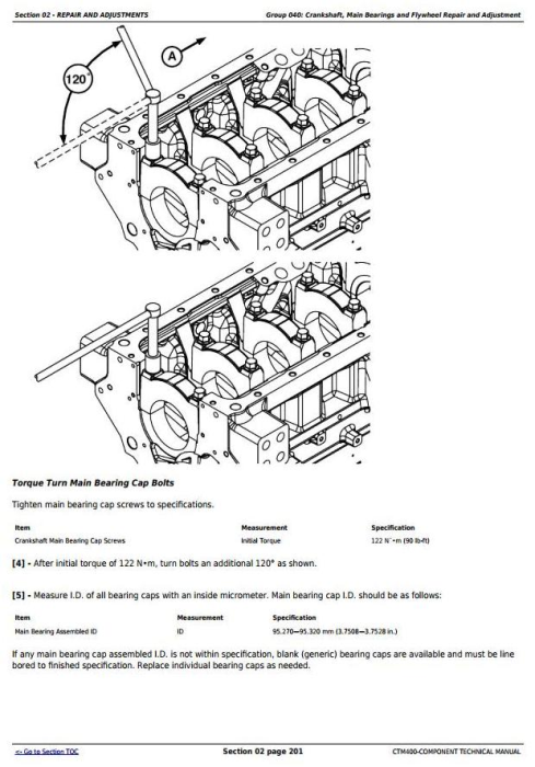 Third Additional product image for - PowerTech 6090 9.0L Diesel Engines Tier 3 / Stage IIIA Base Engine Technical Service Manual (CTM400)
