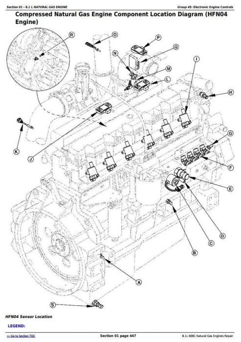 Second Additional product image for - Powertech 8.1L 6081 Natural Gas Engines Technical Service Manual (CTM87)