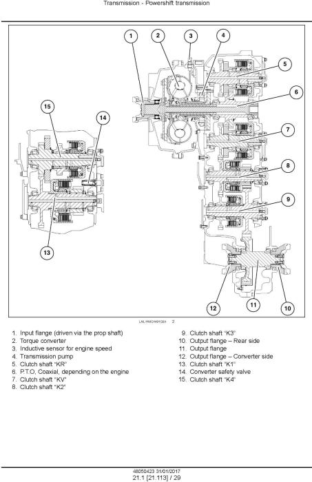 New Holland RG140.B, RG170.B, RG200.B Motor grader Service