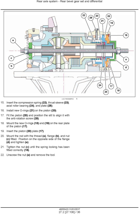 Fourth Additional product image for - New Holland RG140.B, RG170.B, RG200.B Motor grader Service Manual (Brasil)