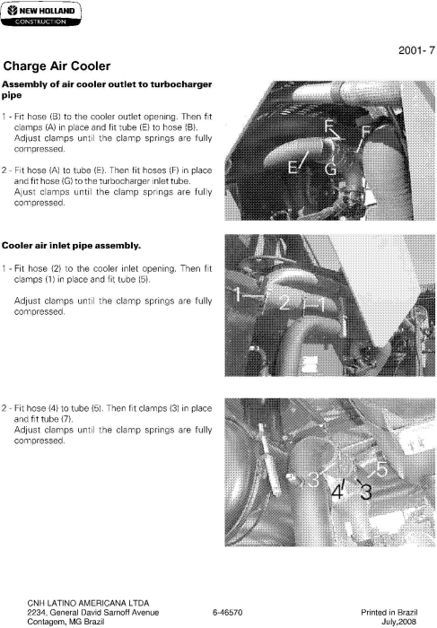 Third Additional product image for - New Holland G140VP, G170VP, G170VP (AWD), G200, G200 (AWD) Tier 3 Grader Service Manual