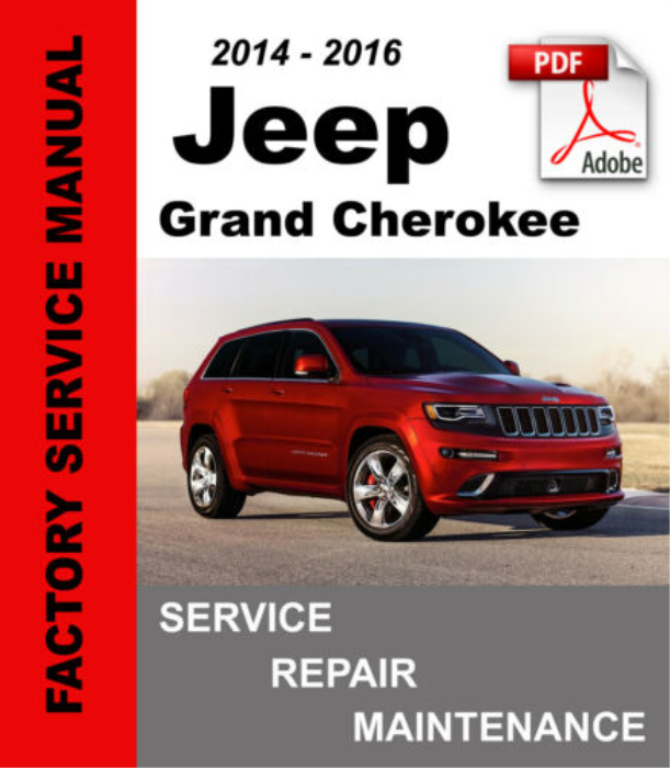 First Additional product image for - Jeep Grand Cherokee 2014 2015 2016 WK2 Service Repair Manual
