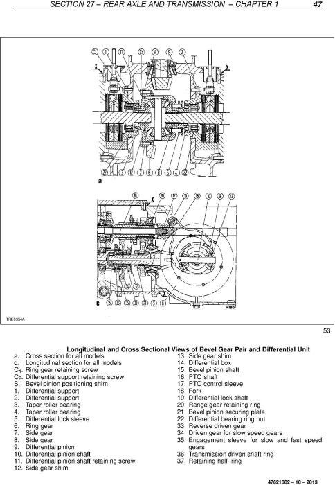 Third Additional product image for - New Holland TD4020F, TD4030F, TD4040F Tractor Service Manual