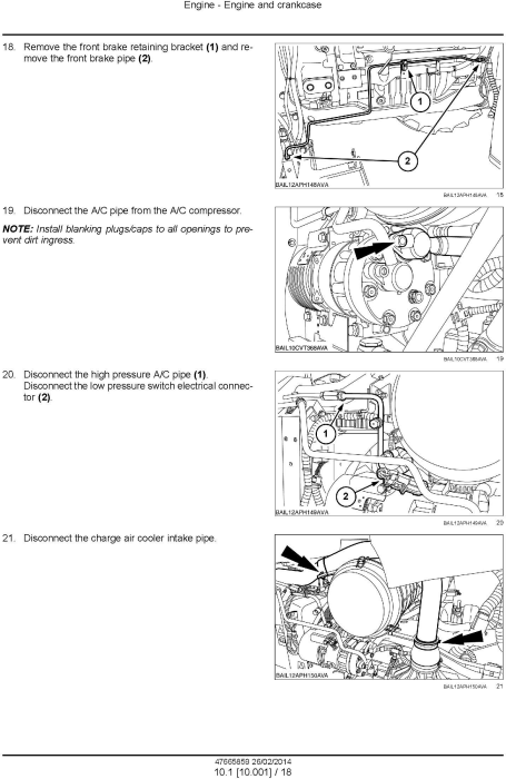 Second Additional product image for - New Holland T6.120, T6.140, T6.150, T6.155, T6.160, T6.165, T6.175 European Tractor Service Manual