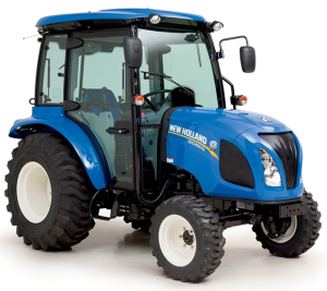 new holland boomer 40, boomer 50 compact tractor with cab service manual (europe)