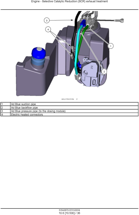 Third Additional product image for - New Holland T5.90, T5.100, T5.110, T5.120 Tier 4B (final) Tractor Service Manual (North America)