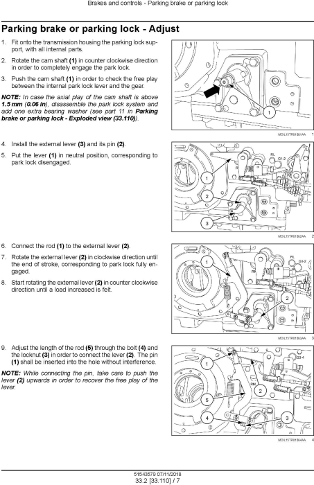 Fourth Additional product image for - New Holland T5.90, T5.100, T5.110, T5.120 Tier 4B (final) Tractor Service Manual (North America)