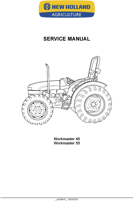 New Holland Workmaster 45, Workmaster 55 Tractor Complete