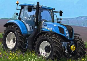 new holland t7.240, t7.245 brazil built tractors service manual