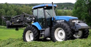 new holland tv140 tractor complete service manual