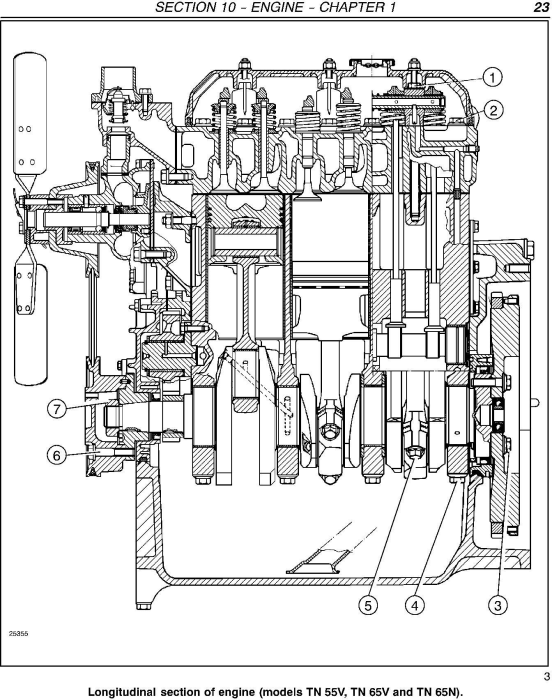 Second Additional product image for - New Holland TN55V, TN65V, TN75V, TN65N, TN75N Tractor Complete Service Manual