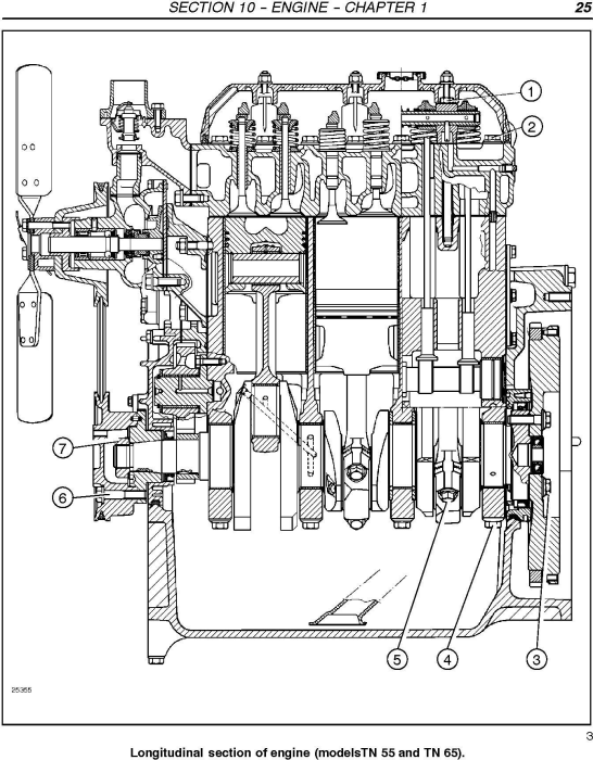 Second Additional product image for - New Holland TN55, TN65, TN70, TN75 Tractor Complete Service Manual